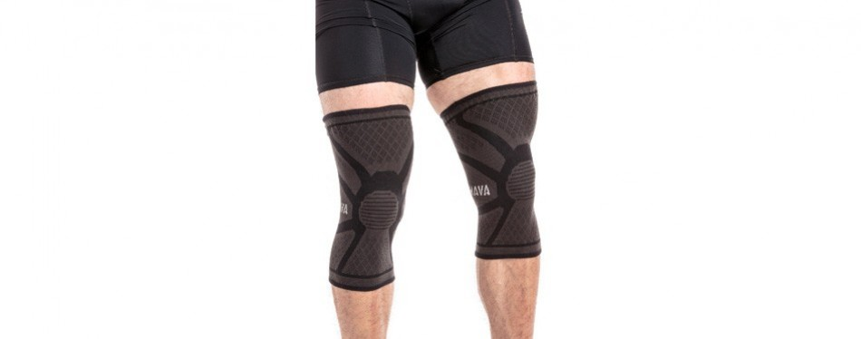 mava sports knee compression knee sleeves support