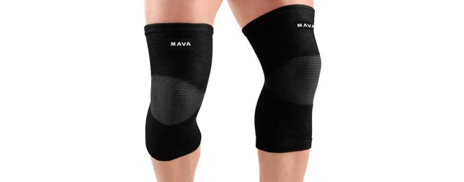 mava sports knee support knee sleeves