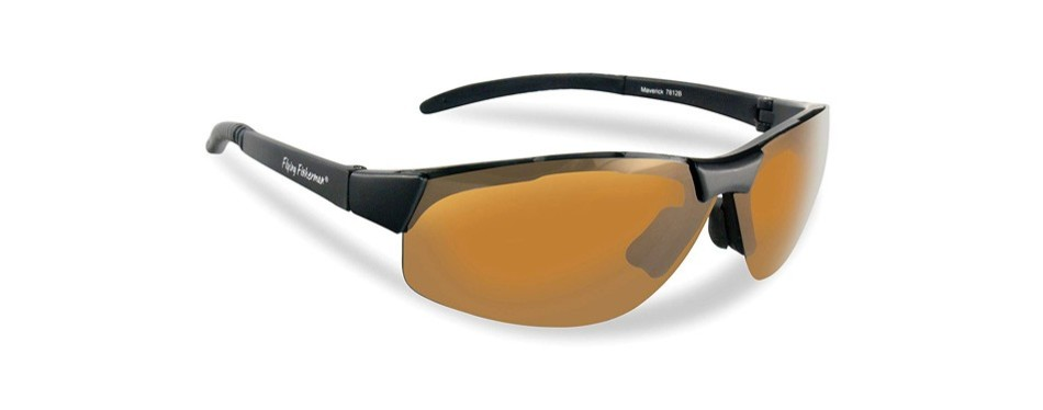 maverick polarized fishing sunglasses, by flying fisherman