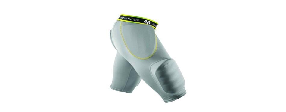 mcdavid md7414 rival intg with hard-shell thigh guards football girdles