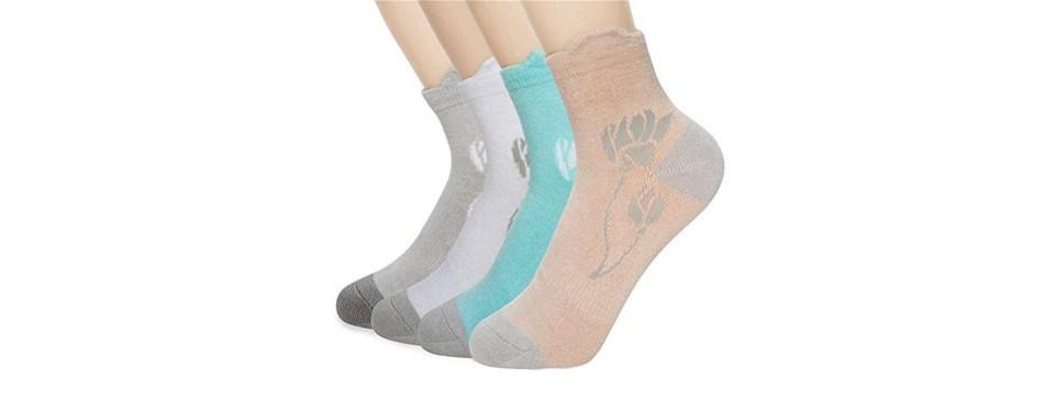 +md premium low-cut bamboo socks