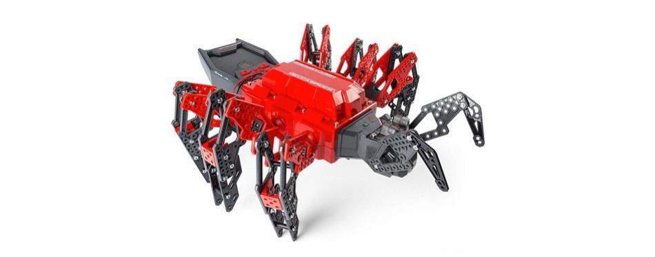 meccano erector meccaspider robot kit for kids