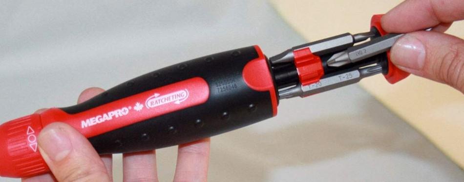 megapro marketing usa nc ratcheting screwdriver