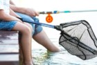 melktemn foldable fish landing fishing net