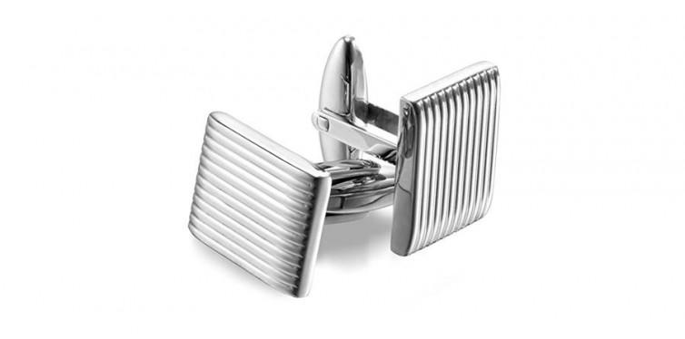 Iron & Oak Men's 316L Stainless Steel Cufflinks