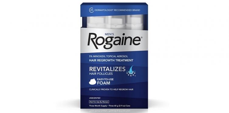 Men's Rogaine Hair Loss & Hair Thinning Treatment