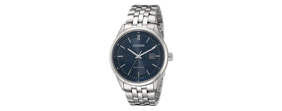 men's stainless steel corso citizen watch