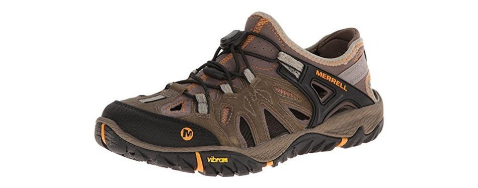 merrell all out blaze sieve water shoe