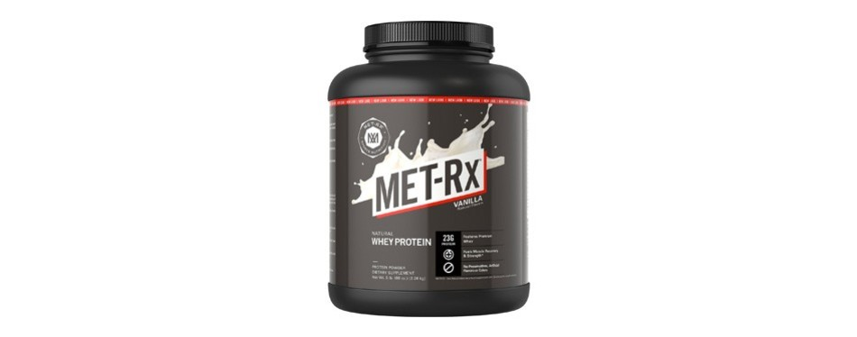 met-rx natural protein powder