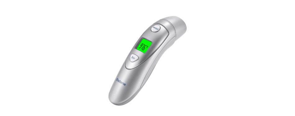 metene infrared digital medical forehead and ear thermometer