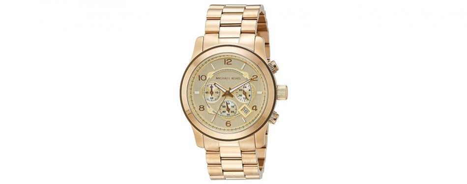michael kors men's runway chronograph watch