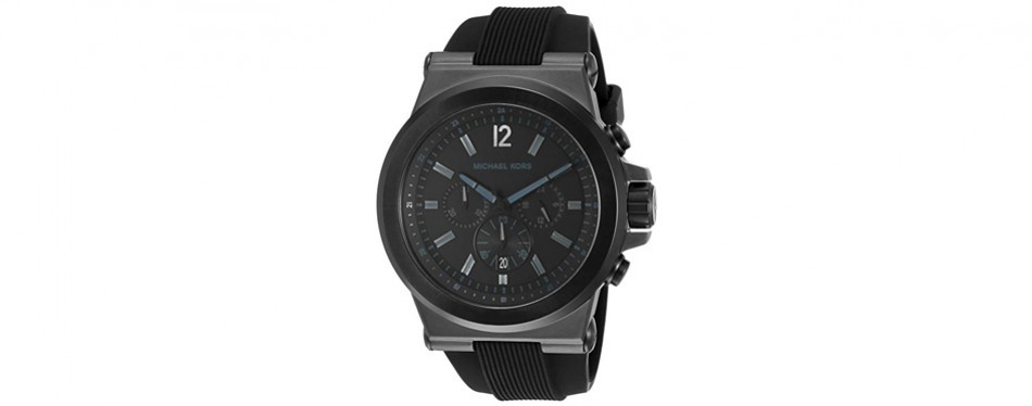 michael kors men's dylan black watch