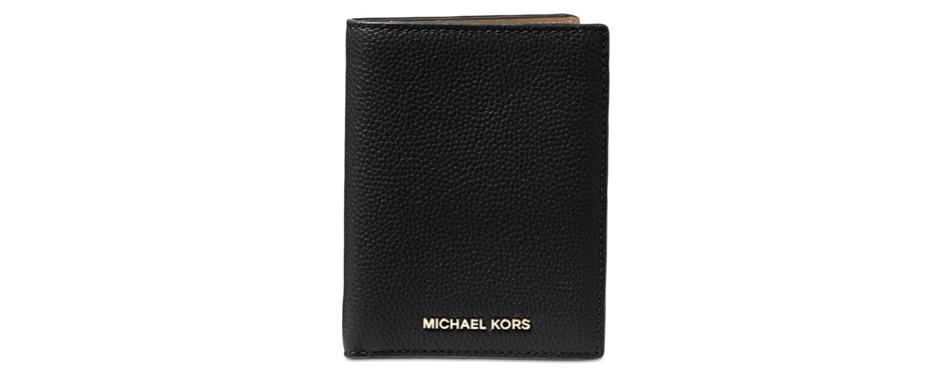 michael kors mercer passport wallet