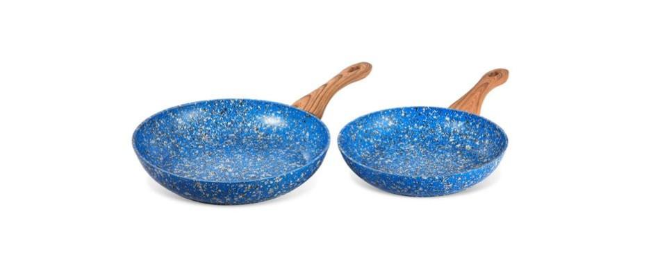 michaelangelo granite frying pan set