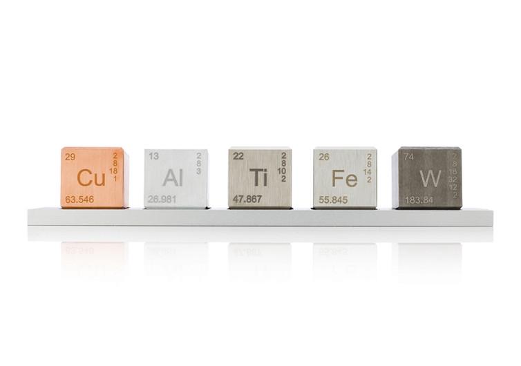 Midwest Tungsten Element Cube Density Set