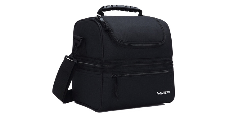 mier adult insulated lunch box