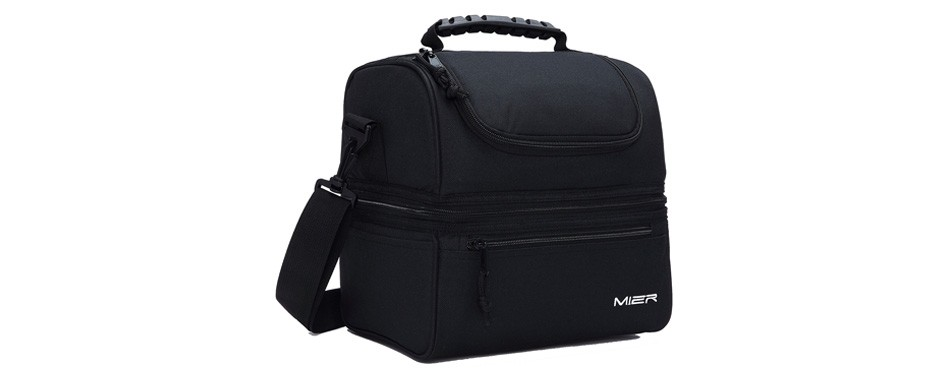 mier adult men's insulated lunch box