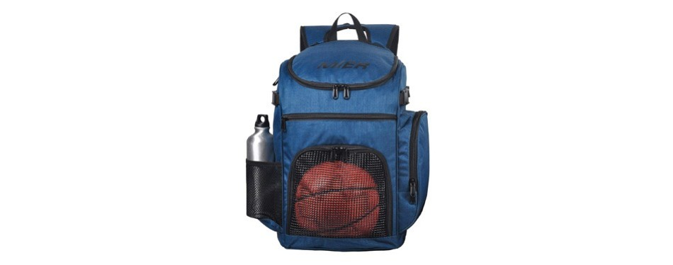 mier basketball backpack large sports bag for men women with laptop compartment