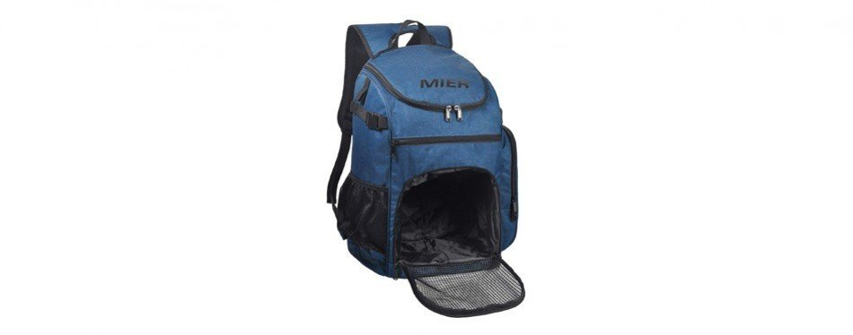 mier basketball backpack large sports bag with laptop compartment
