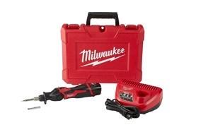 milwaukee electric tools 2488 21 m12 soldering iron kit