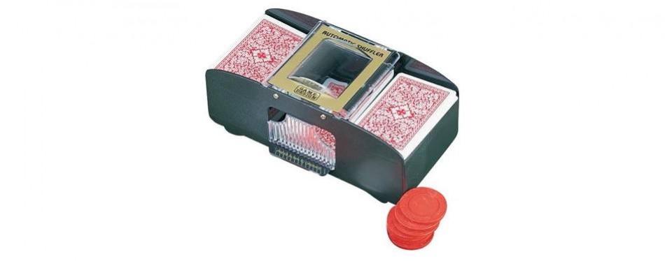 miles kimball 2-deck automatic card shuffler