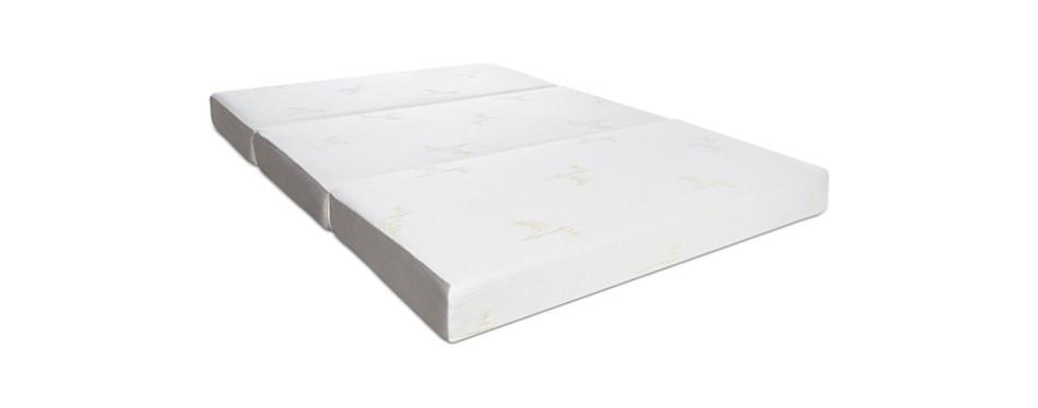 """milliard 6"""" tri-fold memory foam mattress"""