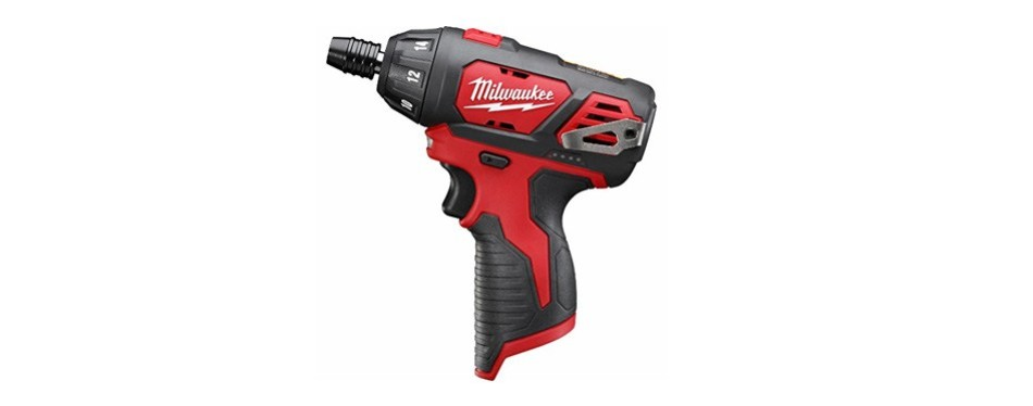 milwaukee 2401-20 m12 12-volt lithium-ion cordless hex screwdriver