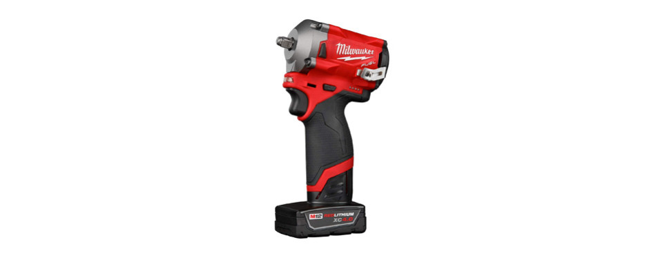 milwaukee 2554-22 m12 3/8 inch 12-volt cordless impact wrench