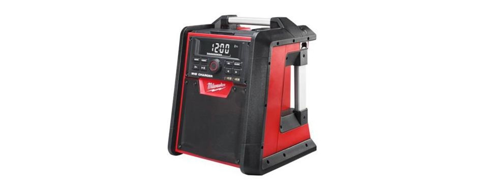 milwaukee electric tool 2792-20 electric jobsite radio