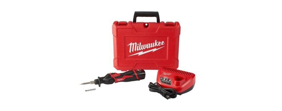 milwaukee electric tools 2488-21 m12 soldering iron kit