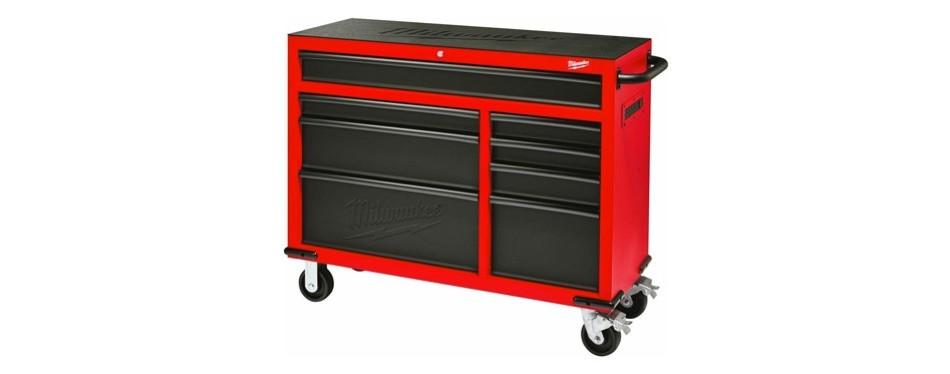 milwaukee heavy duty 8-drawer rolling steel storage cabinet
