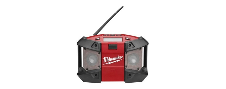 milwaukee m12 cordless job-site radio