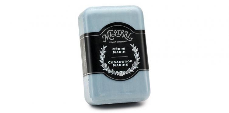 mistral mens soap cedarwood marine