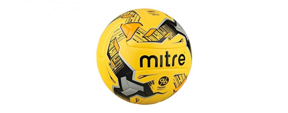 mitre ultimatchhyperseam soccer ball