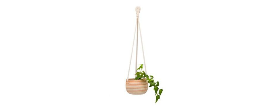 mkono ceramic hanging planter