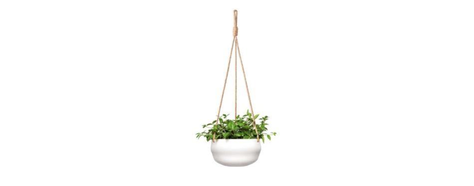 mkono modern ceramic hanging planter
