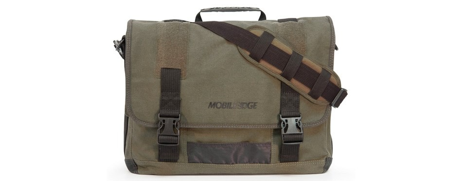 mobile edge eco laptop messenger bag