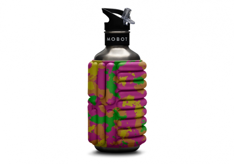 Mobot Foam Roller Water Bottle
