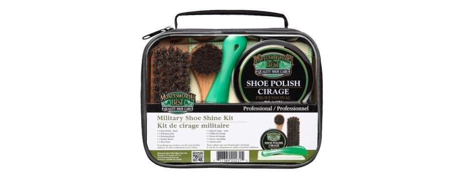 moneysworth & best military shoe shine kit