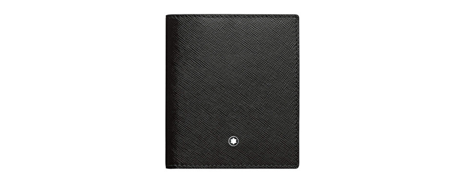 montblanc 114607 business card holder 9cc with flap