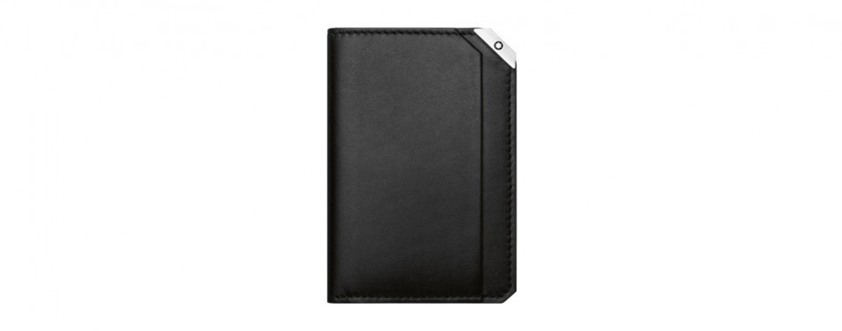 montblanc urban spirit black business card holder