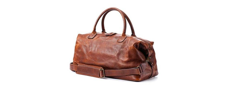 moore and giles leather weekend bag