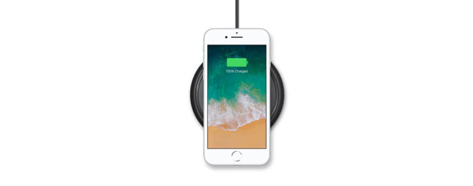mophie qi wireless charge pad - apple optimized