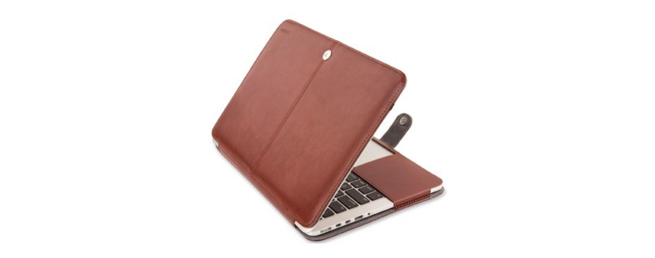mosiso pu leather macbook pro case