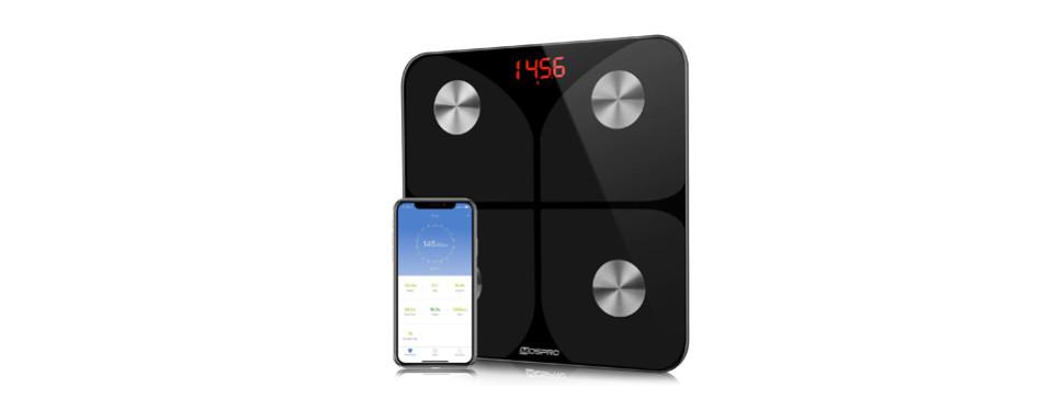 mospro smart body fat weight scale - digital bathroom bmi scale