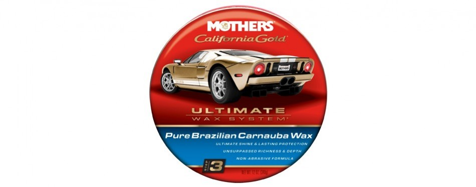 mothers california gold carnauba paste