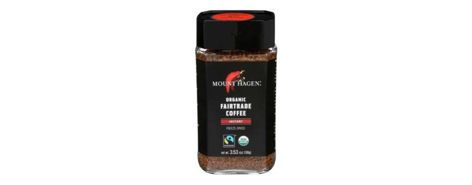 mount hagen organic fairtrade instant coffee
