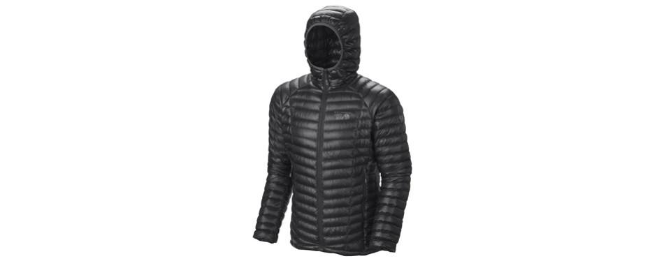 mountain hardwear ghost whisperer hooded down ski jacket