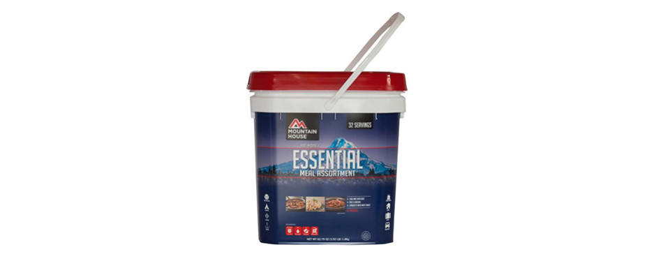 mountain house just in case essential bucket