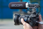 movo zoom f1-sp field field recorder & shotgun microphone bundle